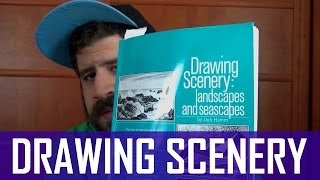 Drawing Scenery: Landscapes and Seascapes by Jack Hamm - Book Flip-through