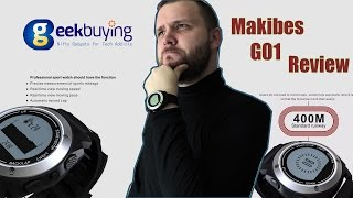 Makibes G01 Review - Smart Watches Made for Sport