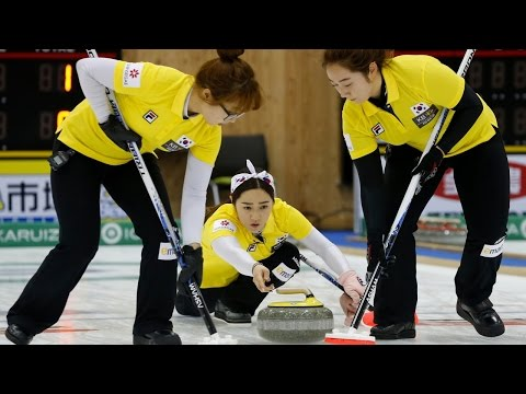 CURLING: CHN-KOR Pacific-Asia Curling Chps 2014 - Women Gold
