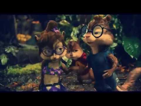 Alvin e os esquilos cantando Fiz Esse Som Pra Você Gabriel Elias