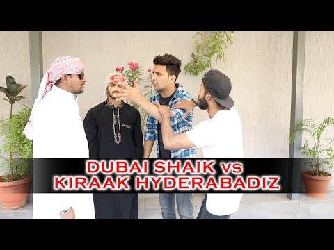 Dubai Shaik vs Kiraak Hyderabadiz    Kiraak Hyderabadiz Comedy