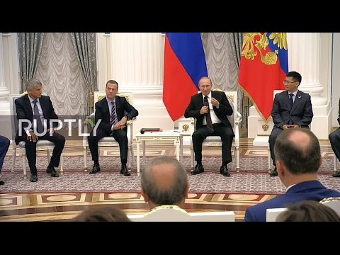 LIVE: Putin participates in United Russia Party meeting in Moscow