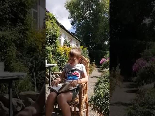Аникин Дима 8 лет читает произведение «Жизнь Арсеньева» (Бунин Иван Алексеевич)