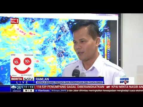 BMKG: Dampak Dahlia Tak Sebesar Siklon Cempaka