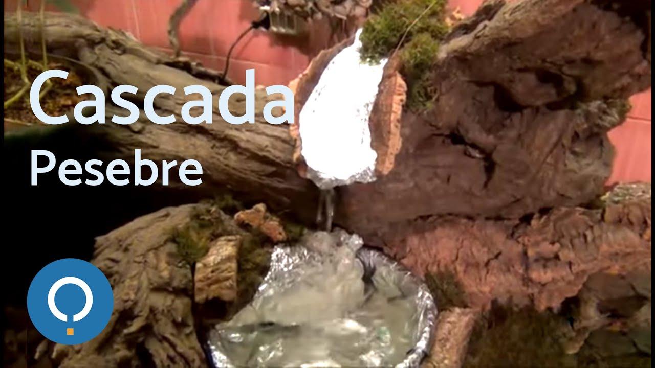 C mo hacer una cascada real con salto de agua para el for Como hacer una pileta de material paso a paso