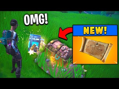 *NEW* Legendary Buried Treasure Map! (Fortnite)
