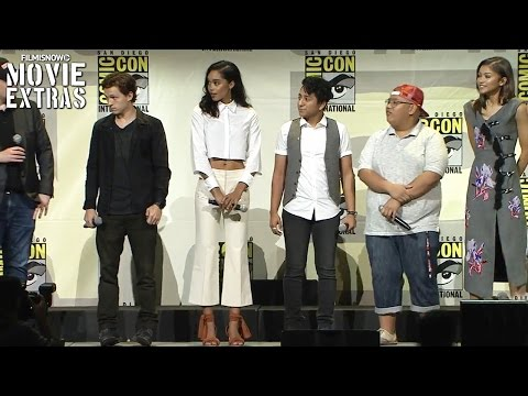 Spider-Man: Homecoming - Panel Highlights And Interviews At Comic-Con 2016 [Marvel]
