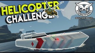INSANE MUTLIPLAYER HELICOPTER LANDING CHALLENGE! - Stormworks: Build and Rescue Update Gameplay