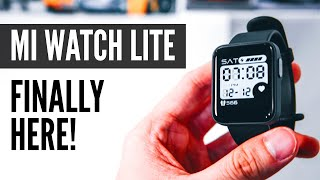 Xiaomi Mi Watch Lite In-Depth Look! The $46 Smartwatch With GPS and MORE!!