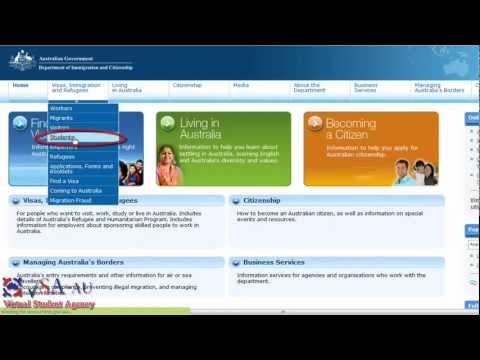 FAQ - Australian Student visa information - financial requirements