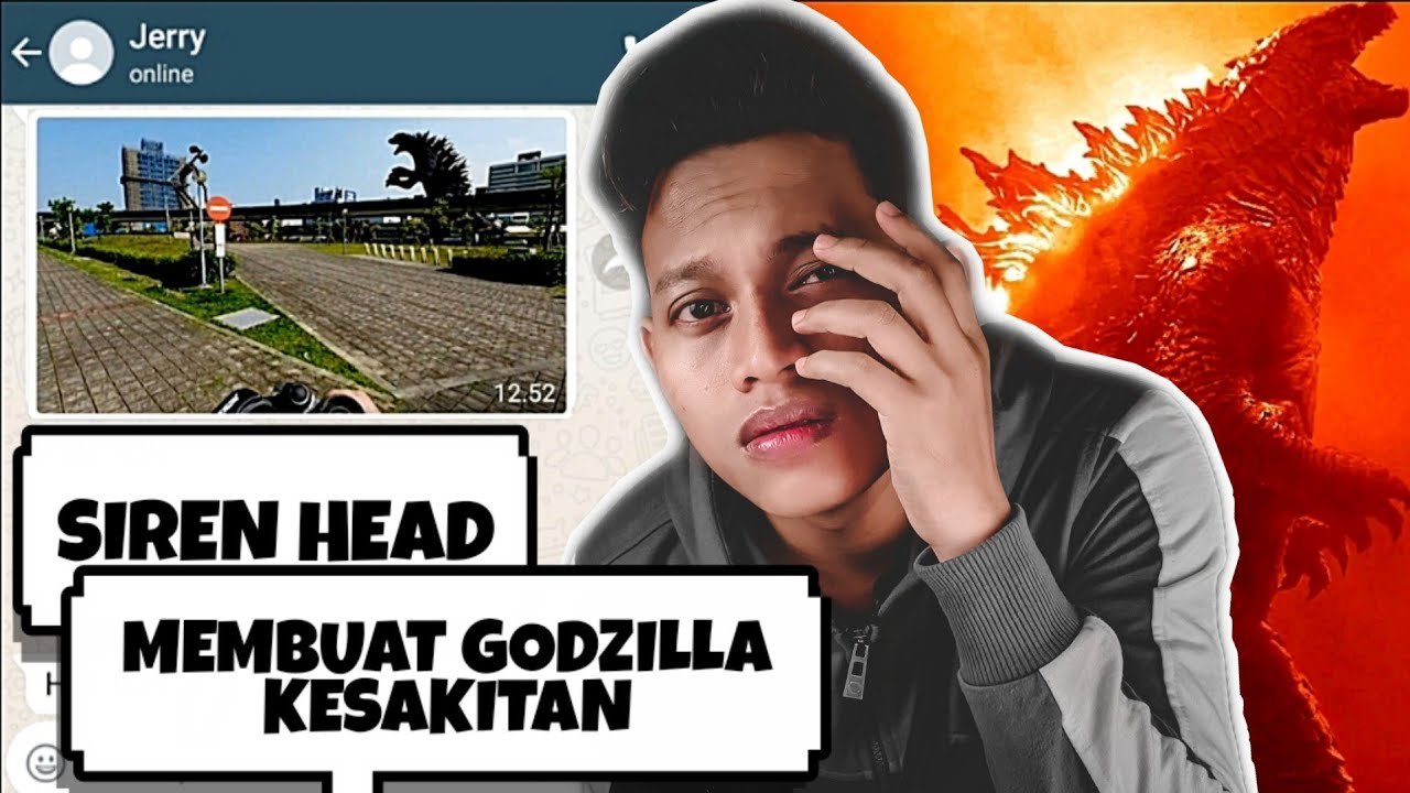 SIREN HEAD BERTEMU DENGAN GODZILLA😱 | Godzilla Part 6 - Chat Story Horror #TERSERAM
