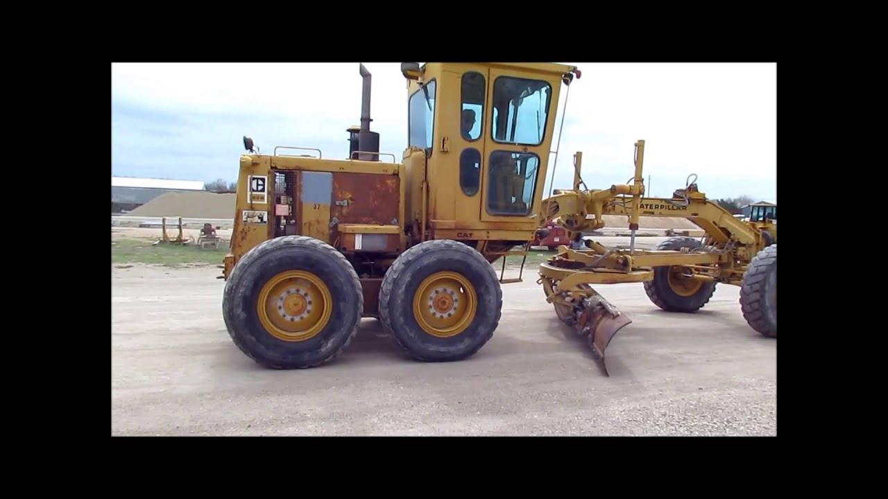 Cat  Motor Grader For Sale