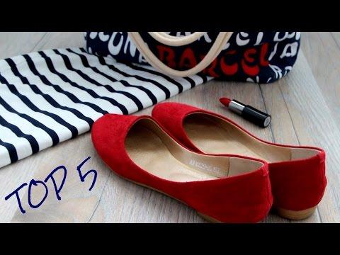 С ЧЕМ НОСИТЬ красную ОБУВЬ /  Top 5 RED shoes OOTD