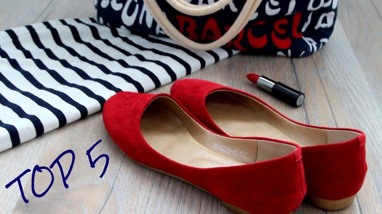Как Выбрать Обувь Балетки. С ЧЕМ НОСИТЬ Красную/Top 5 RED Shoes OOTD