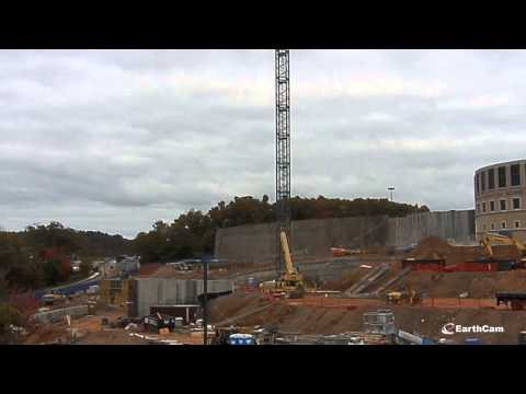 UConn Health Hospital Tower Time Lapse