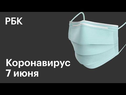 Последние новости о коронавирусе в России. 7 Июня (07.06.2020). Коронавирус в Москве сегодня - Видео онлайн