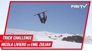 Trick Challenge con la Nazionale di Snowboard Freestyle