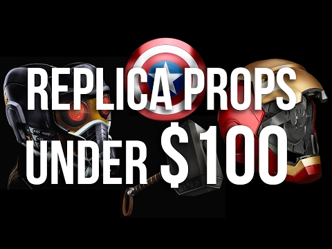 Amazing Marvel Replica Props for Under $100! Iron Man | Thor | Captain America | Star Lord