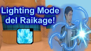 I get the RAY mode of the great Raikage! (Lighting Mode) Roblox: NRPG: Beyond