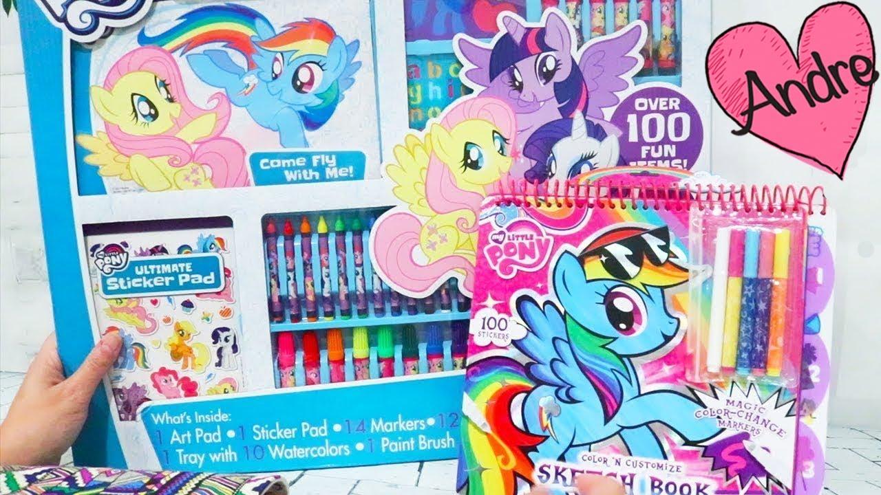 Juguete GIGANTE de colorear de My Little Pony y libro para diseñar ...