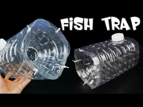 How To Make A Fish Trap With Plastic Bottle