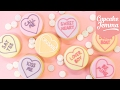 Lemon Ganache Love Heart Valentine's Cookies | Cupcake Jemma