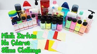 Minik Zarftan Ne Çıkarsa Slime Challenge - Eğlenceli Video - Vak Vak TV