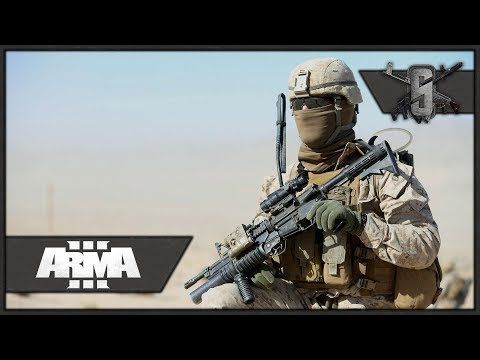 Breach and Clearing Compounds - ArmA 3 - US Marines in Afghanistan