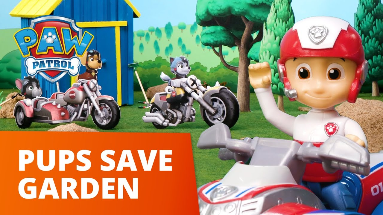 Download PAW Patrol Moto Pups - Pups Save Mayor Goodways Garden - Toy Episode - PAW Patrol Official & Friends