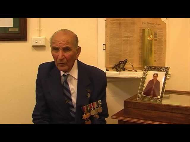 ANZAC Portrait Series - Keith Bent - Part 1