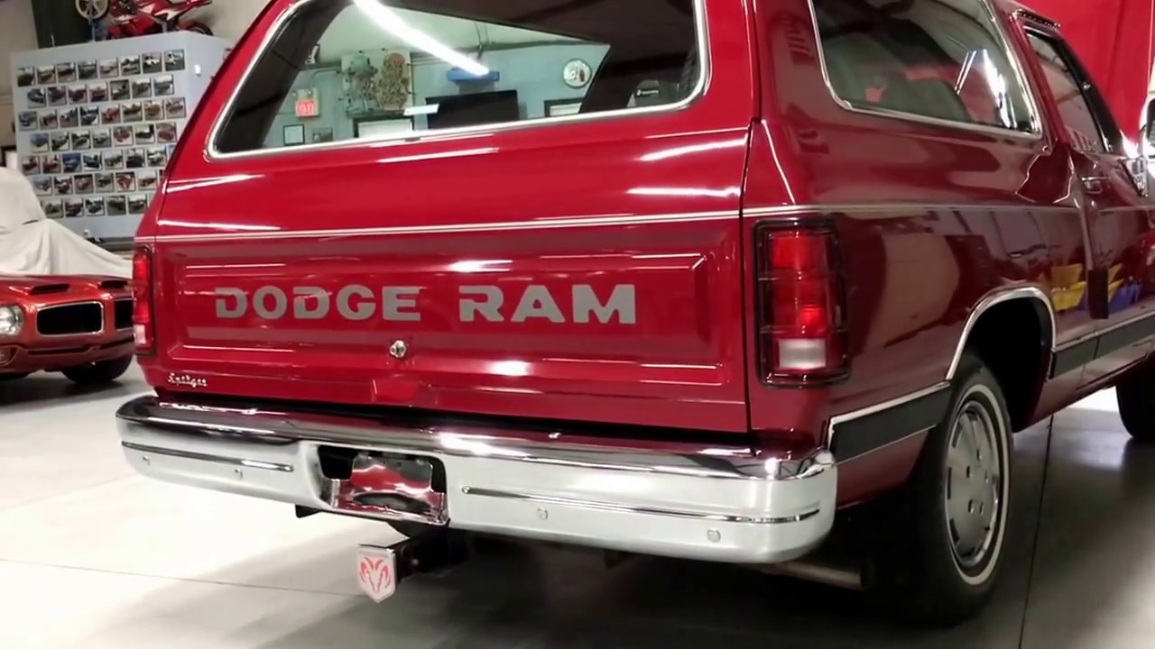 sale for dodge ramcharger