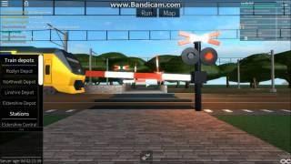 ROBLOX Terminal Railways Dutch Railroad Crossing Three