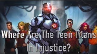 What Happened To The Teen Titans in injustice?