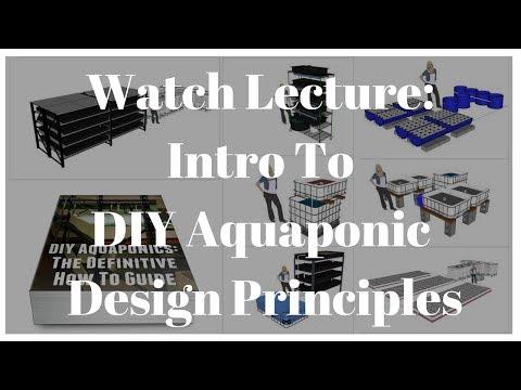 Intro To DIY Aquaponic Design Principles