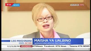 Maisha ya ualbino: wazungumzia matakwa yao