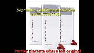 Gambar cover PURTIER PLACENTA 6th Edition Asli Original wa:081233011953