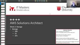 Free Short Course: AWS Solutions Architect - Webinar 2