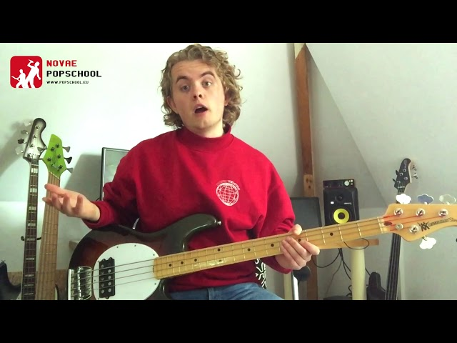 Novae Popschool bass-tips | Bass Minute #6 - Hammer-On & Pull-off