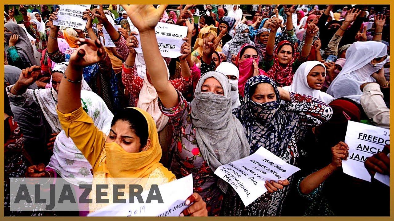 AlJazeera English:Kashmir: India begins to reduce restrictions