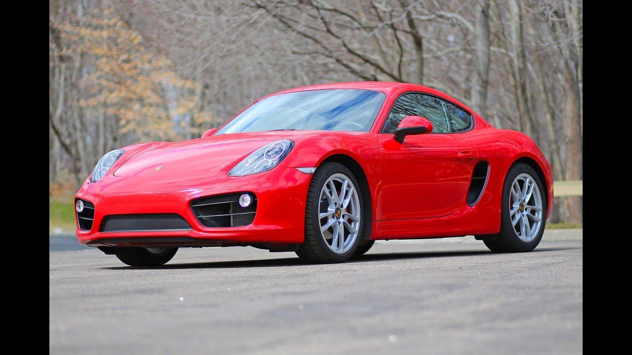 Porsche Cayman S 2014 model review - YouTube