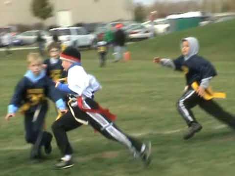 New Lenox Illinois flag football 11-1-09