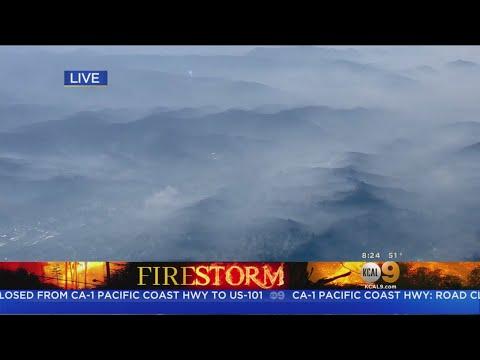 Woolsey Fire Burn Area: Malibu