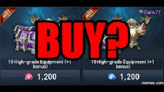 Lineage 2 Revolution Gameplay Fiz Walkthru 6: Should You Open (10+1) Weapon Chest?