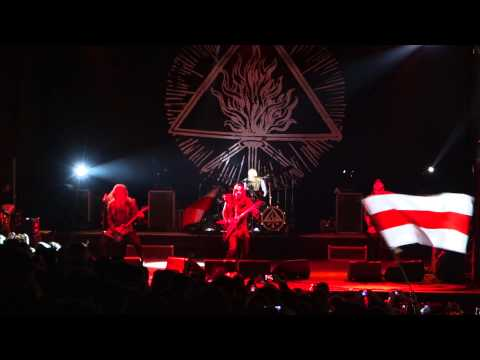 Behemoth - Blow Your Trumpets Gabriel, Ora Pro Nobis Lucifer, Conquer All (Live at CAMF 2014)