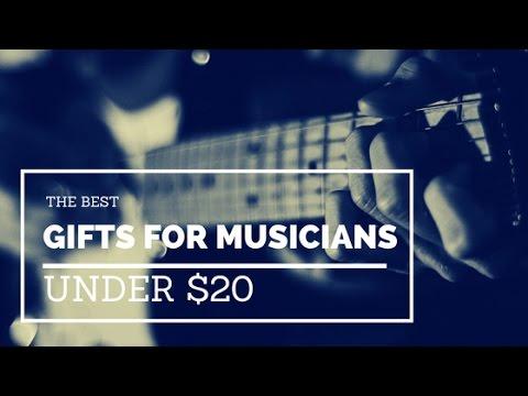 Best Gifts Musicians Under $20