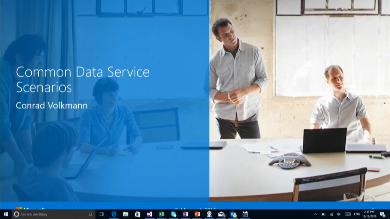 Microsoft Dynamics 365 for Finance and Operations: Common Data Service  Scenarios