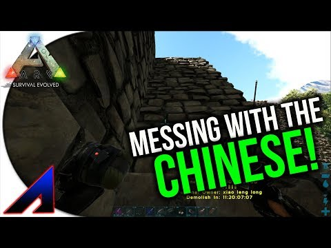 Fighting the Chinese! | New Official PvP Servers | ARK: Survival Evolved | Ep 30