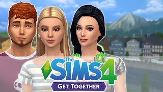 let s play sims 4 get together   part 1   introductions