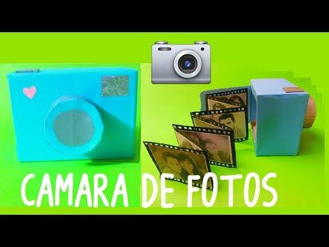 Cámara Fotográfica Cámara Fotográfica De Recicladajuguetes CartónYoutube SUVpzM