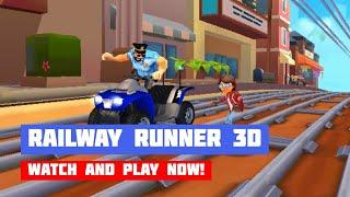 Railway Runner 3D · Game · Gameplay